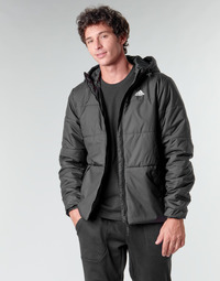 tekstylia Męskie Kurtki pikowane adidas Performance BSC HOOD INS J Czarny