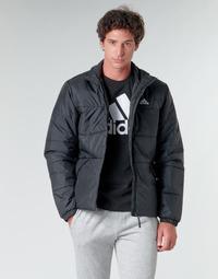 tekstylia Męskie Kurtki pikowane adidas Performance BSC 3S INS JKT Czarny
