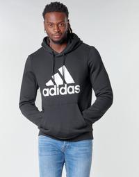 tekstylia Męskie Bluzy adidas Performance MH BOS PO FL Czarny