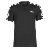 tekstylia Męskie T-shirty z krótkim rękawem adidas Performance E 3S TEE Czarny