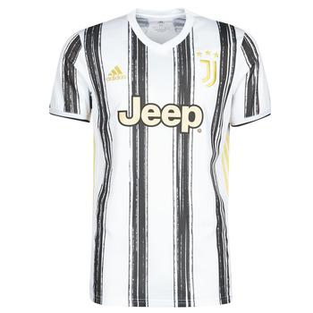 tekstylia T-shirty z krótkim rękawem adidas Performance JUVE H JSY Biały / Czarny