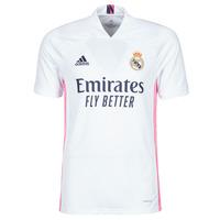 tekstylia T-shirty z krótkim rękawem adidas Performance REAL H JSY Biały