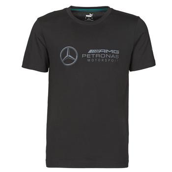 tekstylia Męskie T-shirty z krótkim rękawem Puma MAPM LOGO TEE Czarny
