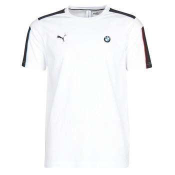 tekstylia Męskie T-shirty z krótkim rękawem Puma BMW MMS MS T7 TEE Biały