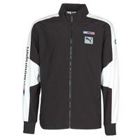 tekstylia Męskie Bluzy dresowe Puma BMW MMS WVN JACKET F Czarny / Szary / Biały