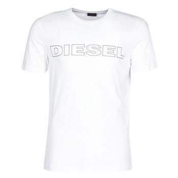 tekstylia Męskie T-shirty z krótkim rękawem Diesel JAKE Biały