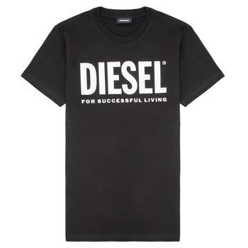 tekstylia Dziecko T-shirty z krótkim rękawem Diesel TJUSTLOGO Czarny