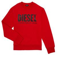 tekstylia Chłopiec Bluzy Diesel SCREWDIVISION LOGO Czerwony