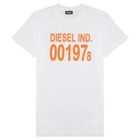 tekstylia Dziecko T-shirty z krótkim rękawem Diesel TDIEGO1978 Biały