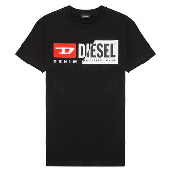 tekstylia Dziecko T-shirty z krótkim rękawem Diesel TDIEGOCUTY Czarny
