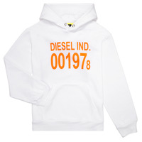 tekstylia Dziecko Bluzy Diesel SGIRKHOOD Biały