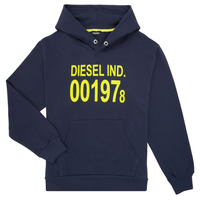 tekstylia Dziecko Bluzy Diesel SGIRKHOOD Niebieski