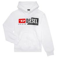 tekstylia Dziecko Bluzy Diesel SGIRKHOODCUTY Biały