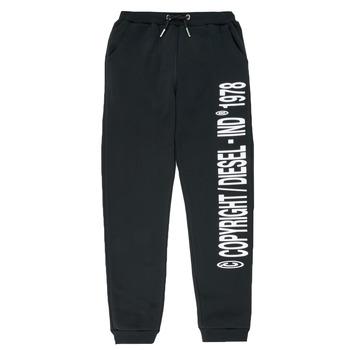tekstylia Chłopiec Spodnie dresowe Diesel PLAMPCOPY Czarny