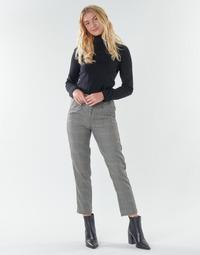 tekstylia Damskie Spodnie z pięcioma kieszeniami Freeman T.Porter SHELBY MERCURY Szary