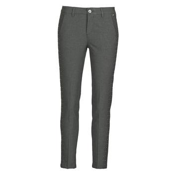 tekstylia Damskie Spodnie z pięcioma kieszeniami Freeman T.Porter CLAUDIA POLYNEO Szary
