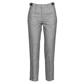 tekstylia Damskie Spodnie z pięcioma kieszeniami Freeman T.Porter SHELBY MOKKA Szary / Clair