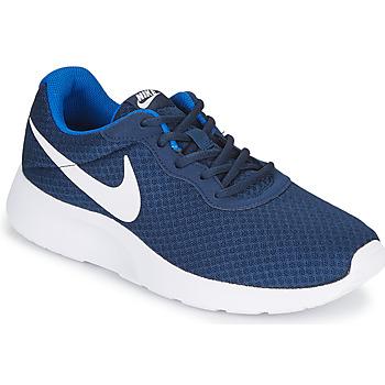 Buty Męskie Trampki niskie Nike TANJUN Niebieski / Biały
