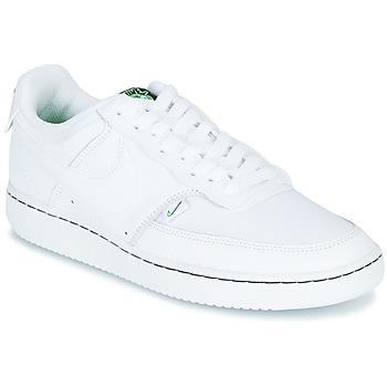 Buty Damskie Trampki niskie Nike COURT VISION LOW PREM Biały