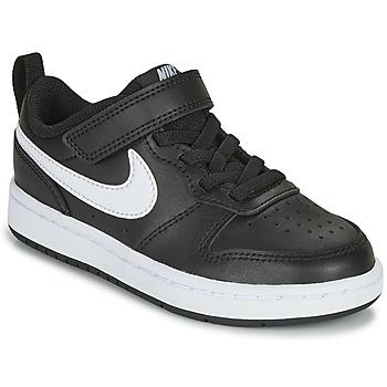 Buty Dziecko Trampki niskie Nike COURT BOROUGH LOW 2 PS Czarny / Biały