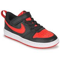 Buty Dziecko Trampki niskie Nike COURT BOROUGH LOW 2 PS Czarny / Czerwony