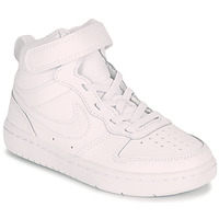 Buty Dziecko Trampki wysokie Nike COURT BOROUGH MID 2 PS Biały