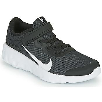 Buty Dziecko Trampki niskie Nike EXPLORE STRADA PS Czarny / Biały