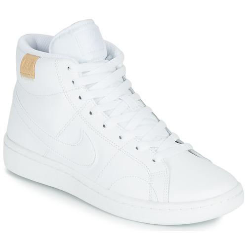 Buty Damskie Trampki niskie Nike COURT ROYALE 2 MID Biały