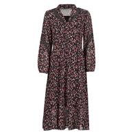 tekstylia Damskie Sukienki długie One Step FR30121 Czarny