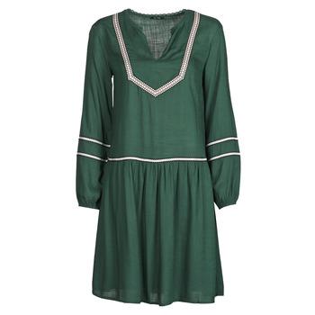 tekstylia Damskie Sukienki krótkie One Step FR30231 Zielony