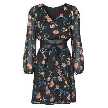tekstylia Damskie Sukienki krótkie One Step FR30301 Czarny