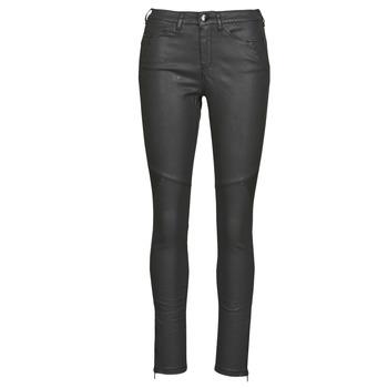tekstylia Damskie Spodnie z pięcioma kieszeniami One Step FR29031_02 Czarny