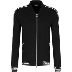 tekstylia Męskie Bluzy dresowe Balmain RH08900 Czarny