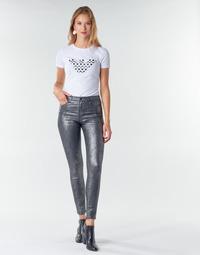 tekstylia Damskie Spodnie z pięcioma kieszeniami Emporio Armani 6H2J20 Szary / Argenté