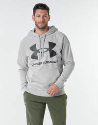 tekstylia Męskie Bluzy Under Armour UA RIVAL FLEECE BIG LOGO HD Szary / Clair