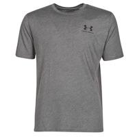 tekstylia Męskie T-shirty z krótkim rękawem Under Armour SPORTSTYLE LEFT CHEST SS Szary