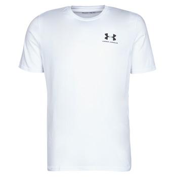 tekstylia Męskie T-shirty z krótkim rękawem Under Armour SPORTSTYLE LEFT CHEST SS Biały