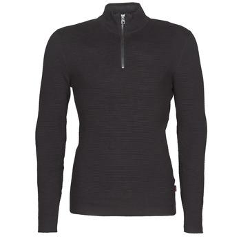 tekstylia Męskie Swetry Esprit COWS STR HZ Czarny