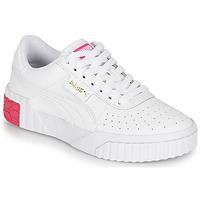 Buty Dziewczynka Trampki niskie Puma CALI JR Biały / Różowy