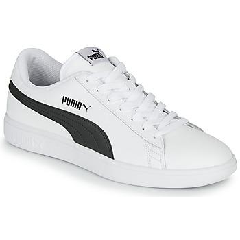 Buty Męskie Trampki niskie Puma SMASH Biały / Czarny
