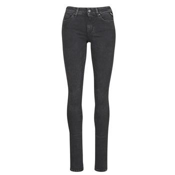tekstylia Damskie Jeansy slim fit Replay LUZ / HYPERFLEX / RE-USED Czarny
