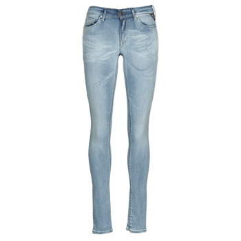 tekstylia Damskie Jeansy slim fit Replay HYPERFLEX BIO Niebieski / Medium