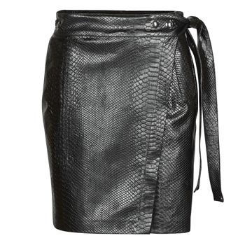 tekstylia Damskie Spódnice Replay W9829 Czarny