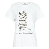 tekstylia Damskie T-shirty z krótkim rękawem Replay W3509D Biały