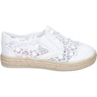 Buty Dziewczynka Tenisówki Asso Sneakersy BM446 Biały