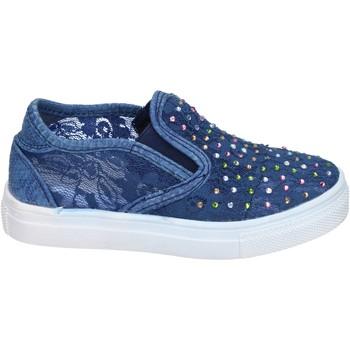 Buty Dziewczynka Tenisówki Asso Sneakersy BM448 Niebieski