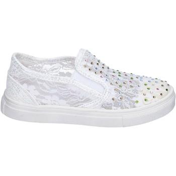 Buty Dziewczynka Tenisówki Asso Sneakersy BM449 Biały
