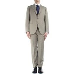 tekstylia Męskie Garnitury Cesare Attolini S20MA17 V21 Beżowy