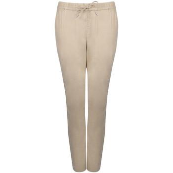 tekstylia Damskie Spodnie dresowe Gant  Beżowy