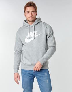 tekstylia Męskie Bluzy Nike M NSW CLUB HOODIE PO BB GX Szary